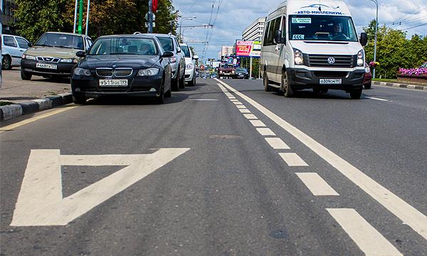 На Тверской улице может появиться выделенная полоса