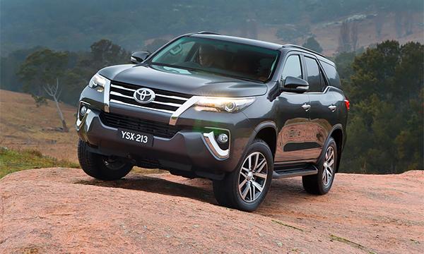Toyota представила внедорожник Fortuner