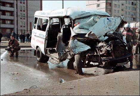 В Люберцах маршрутка попала в ДТП со смертельным исходом