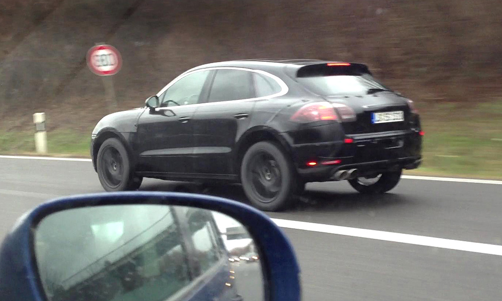 Porsche Macan в действии. Эксклюзивное видео
