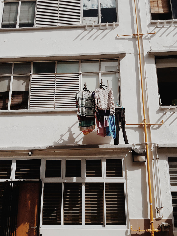 Большинство сингапурцев живут в апартаментах