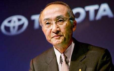 Президент компании Toyota Катсуаки Ватанабе