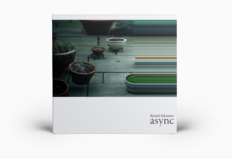 Обложка альбома Рюити Сакамото «async»