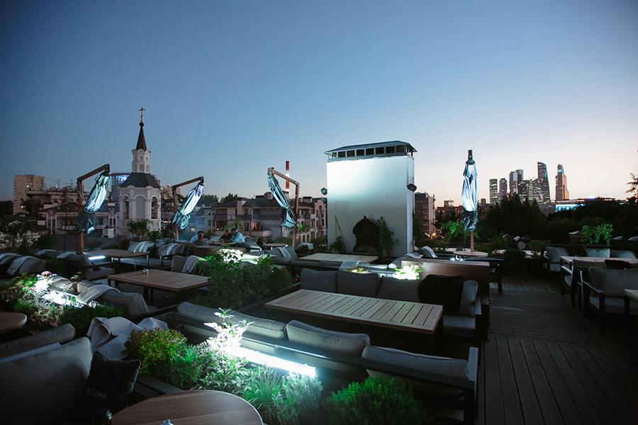 Крыша ресторана Modus
