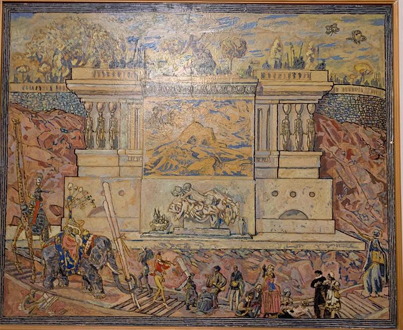 Сергей Калмыков, «Парад королей». 1940-е, Коллекция Жанны и Ричарда Спунер