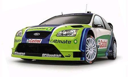 Ford показал в Болонье гоночный Focus RS WRC