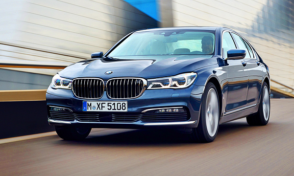 BMW назвала российские цены на новую «семерку»