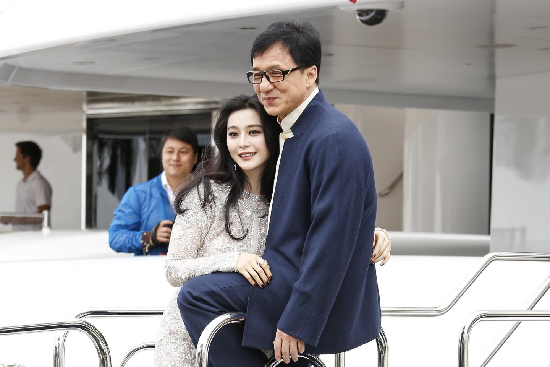 Фань Бинбин и Джеки Чан