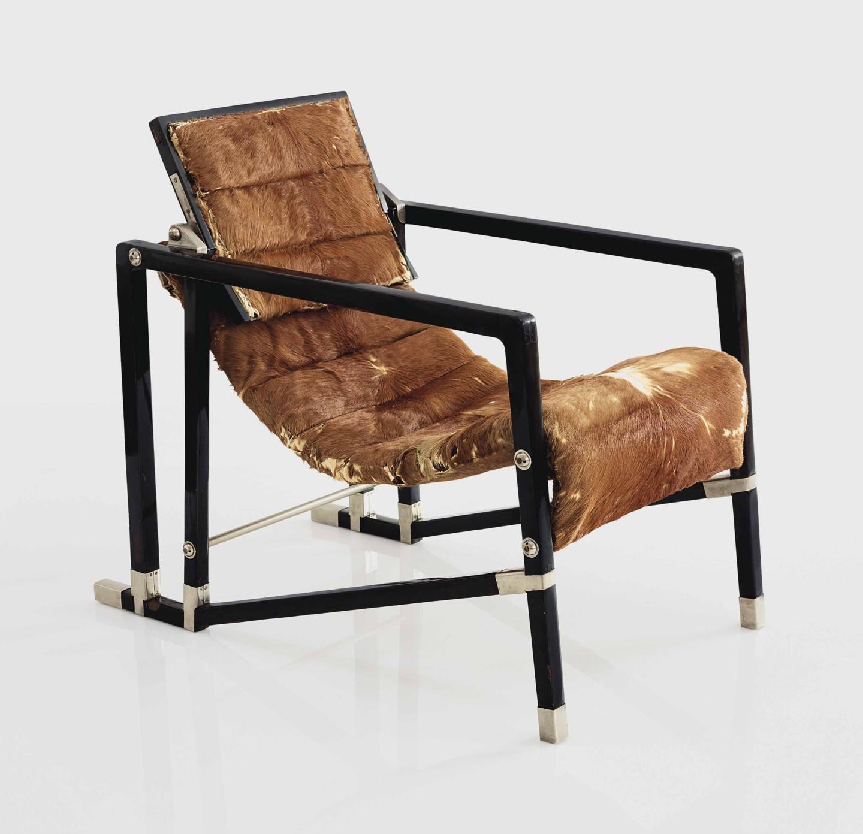 Эйлин Грей, кресло Transat, 1927–1930 (продано на аукционе Christie's в Нью-Йорке в июне 2018 года за $1 596 500)