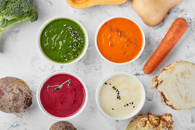 Полезные овощные супы в Verba Mayr
