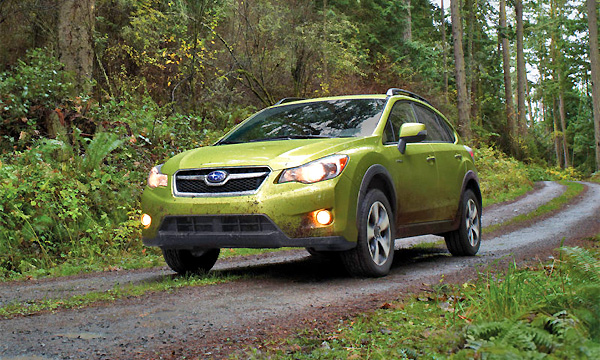 Subaru XV превратили в гибрид