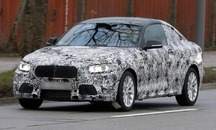 BMW приступил к тестам модели 2-й серии