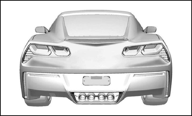 Чертежи нового Chevrolet Corvette выложили в сеть