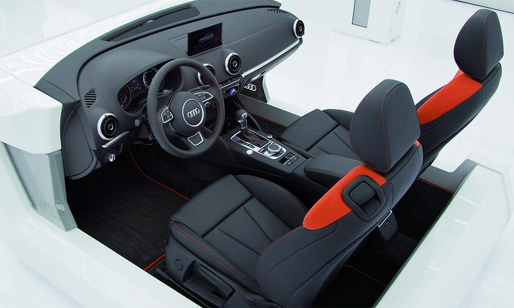 Салон Audi A3 напичкают электроникой