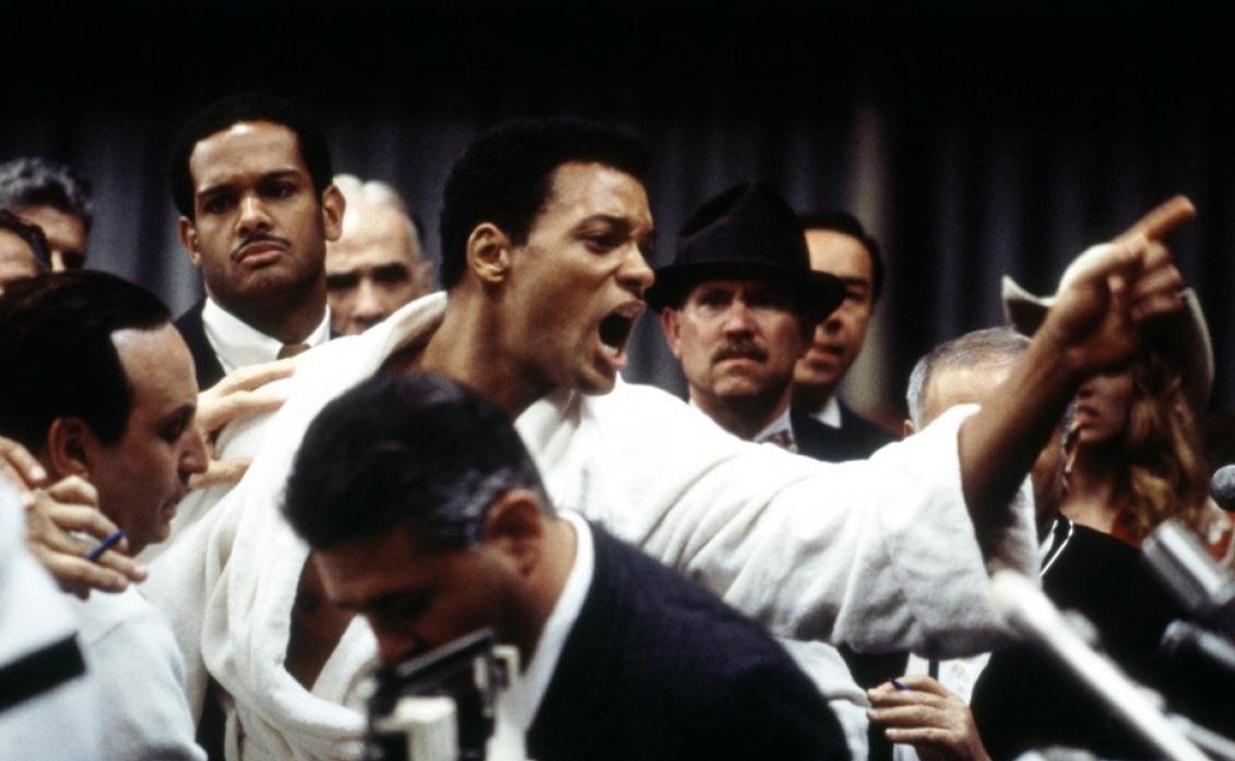 Кадр из фильма «Али»