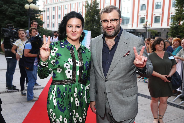 Оксана Михеева и Михаил Пореченков