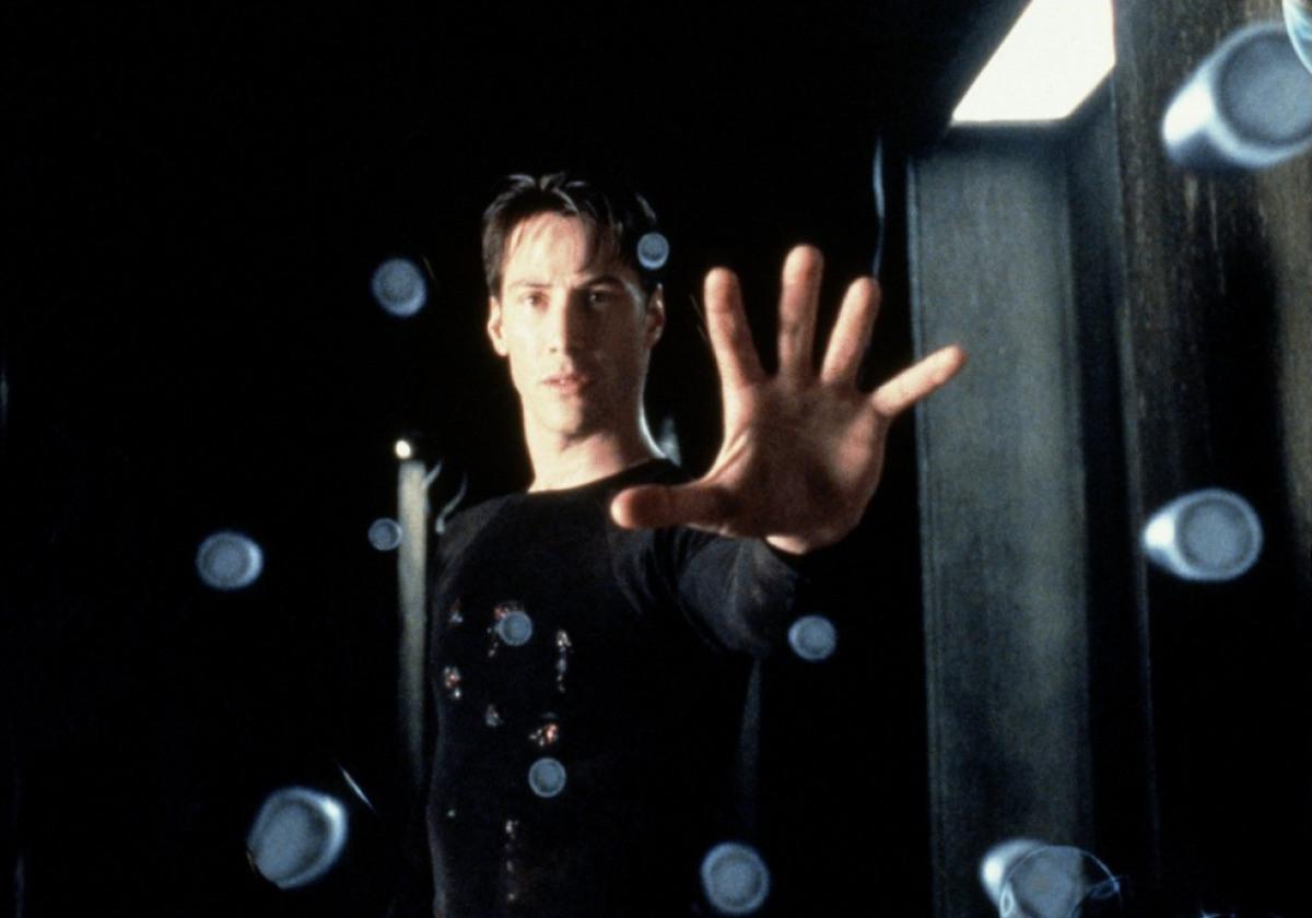 Кадр из фильма«Матрица»