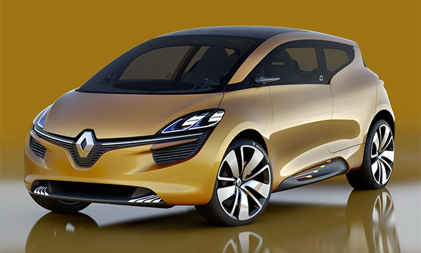 Renault назвал дату премьеры нового Scenic