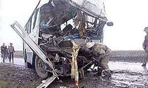 В Татарстане автобус столкнулся с грузовиком