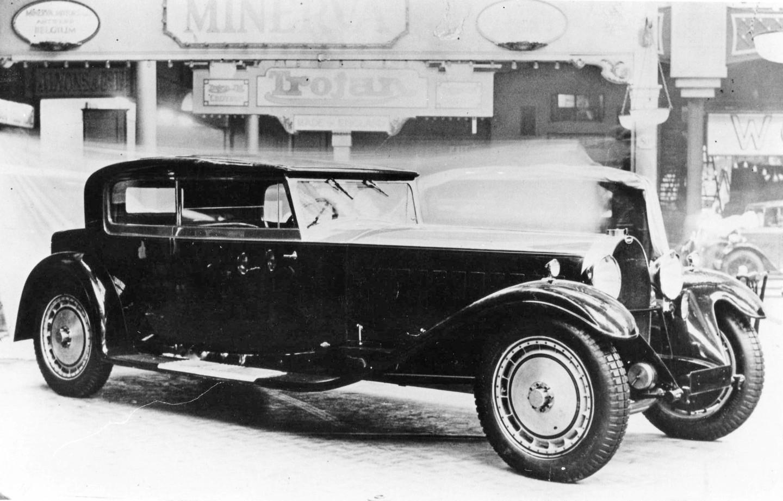 Bugatti Typ 41 № 40141 выпуска 1931 года. На аукционе Christie's 19 ноября 1987-го ушел за рекордные £5,5 млн