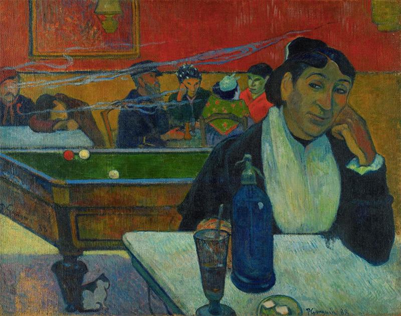 Поль Гоген, «Кафе в Арле», 1888