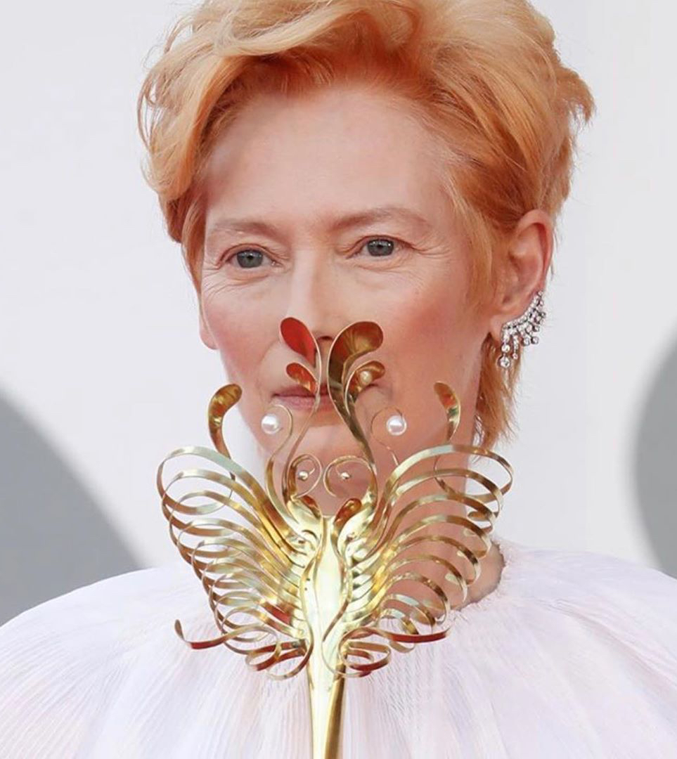 Тильда Суинтон на Венецианском кинофестивале