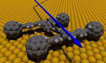 Ученые создали автомобиль из одной молекулы