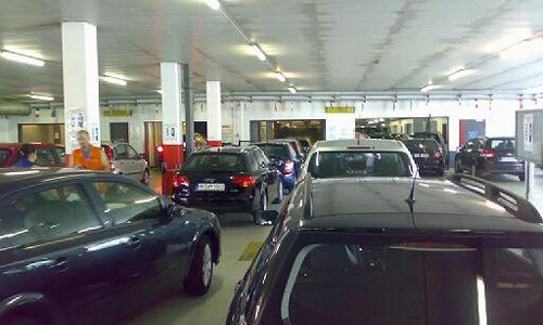 На пл. Тверская Застава появится парковка на 1800 мест