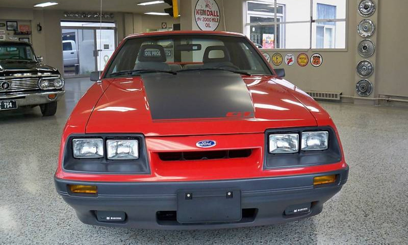 1985 Ford Mustang GT 5.0 V8