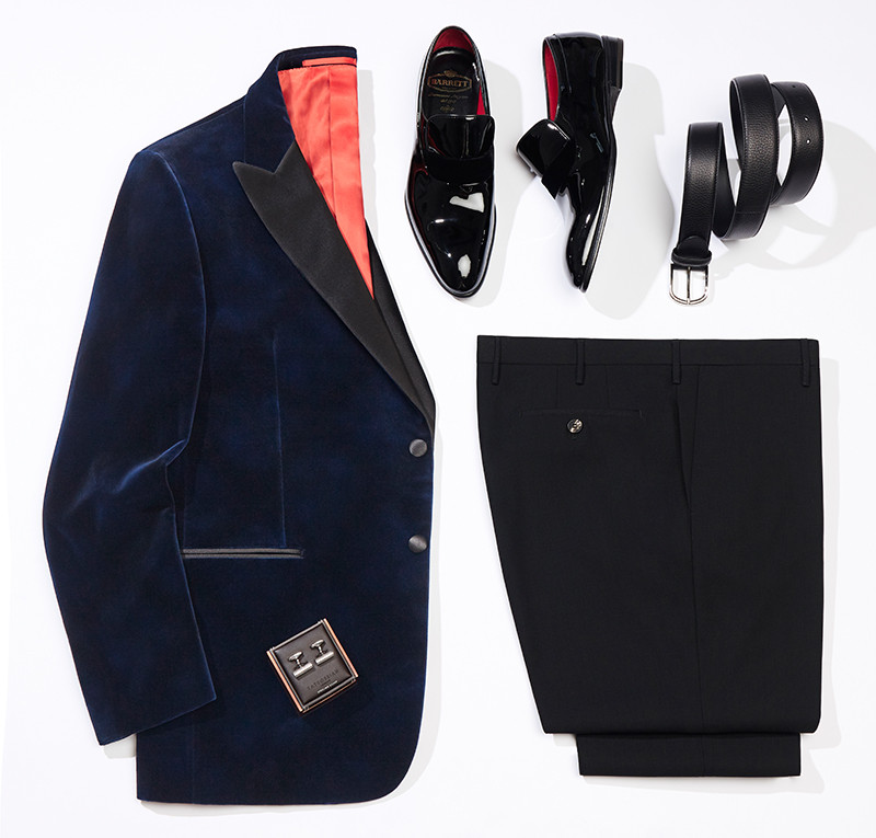 Пиджак, брюки Atelier Portofino, ботинки, ремень Barrett