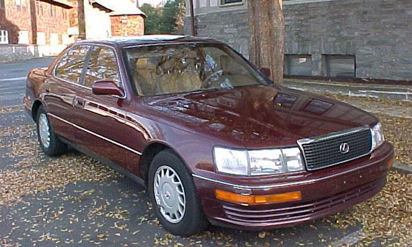 Lexus LS400 Билла Гейтса выставлен на аукцион