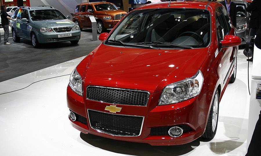 В Женеве дебютировал трехдверный Chevrolet Aveo