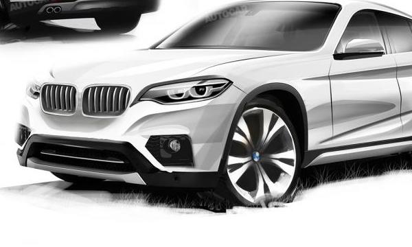 Кроссовер BMW X2 выйдет в 2017 году
