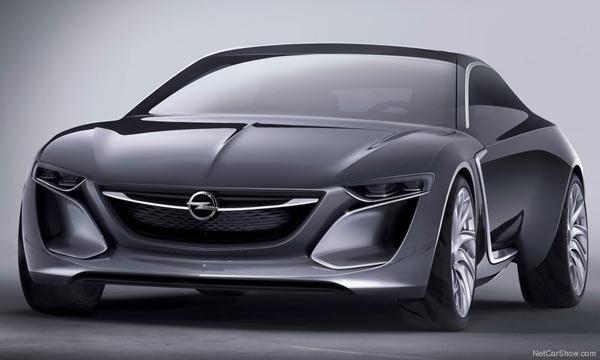 Opel показал концепт-кар Monza