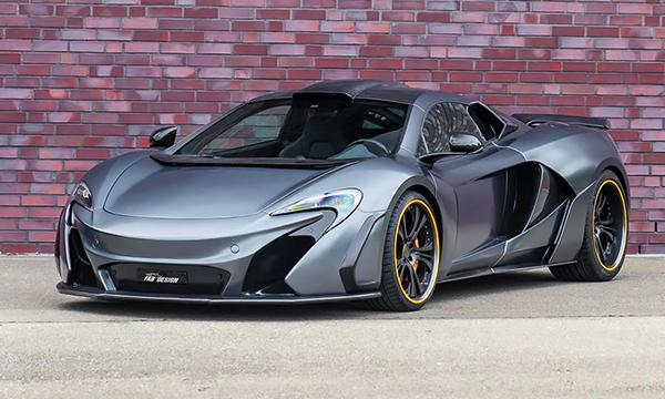 Спорткару McLaren 650S добавили мощности