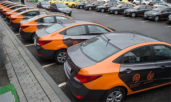 На автомобилях каршеринга разрешат ездить по всему Подмосковью