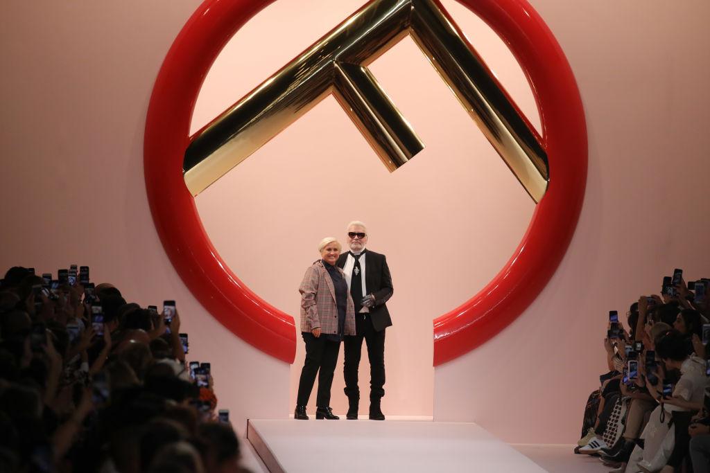 Показ Fendi на Миланской неделе моды, 2018 год