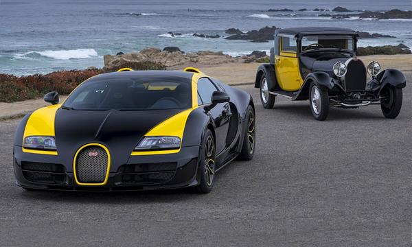 Компания Bugatti представила уникальный вариант Veyron