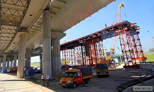 Новую развязку построят на пересечении Волоколамского шоссе с МКАД