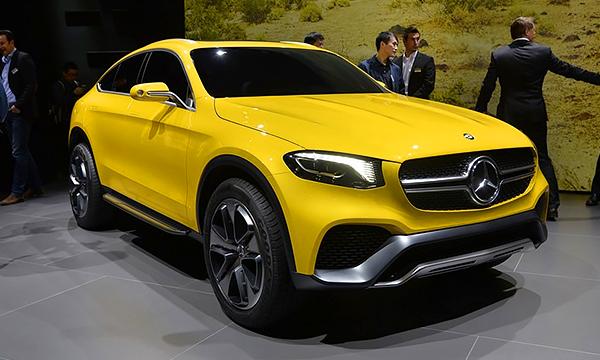Mercedes рассекретил концепт кроссовера GLC Coupe