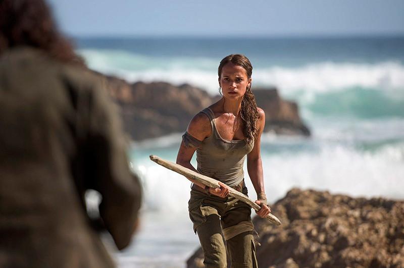 Фото: Кадр из к/ф «Tomb Raider: Лара Крофт»