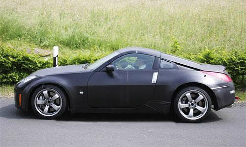 Новый Nissan 350Z выследили на трассе