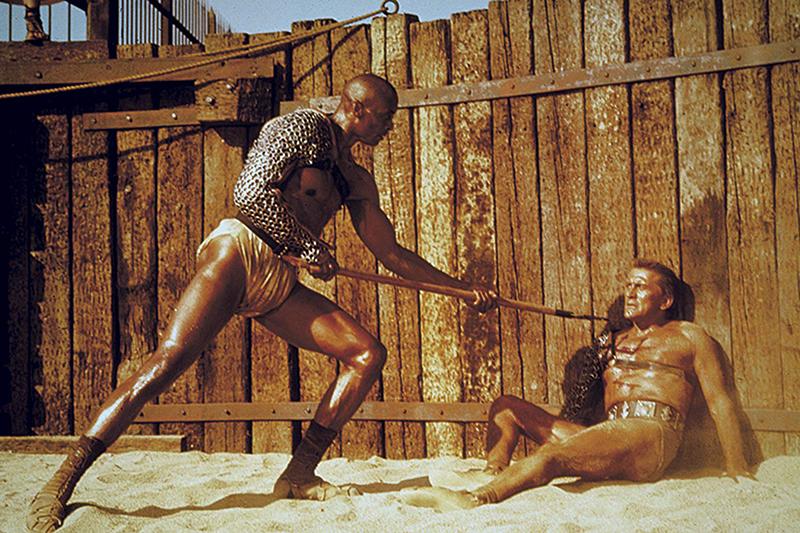 Кадр из фильма «Спартак» (1960)