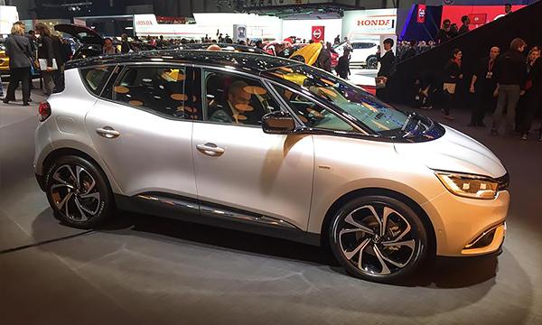 Renault Scenic после смены поколения стал похож на кроссовер