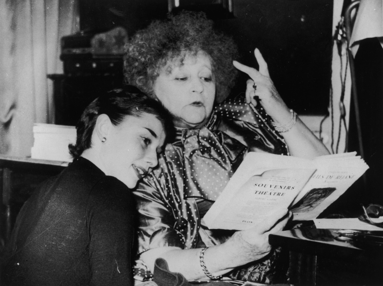 Одри Хепберн и Колетт