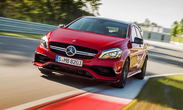 Новый Mercedes A45 AMG получит 400-сильный мотор