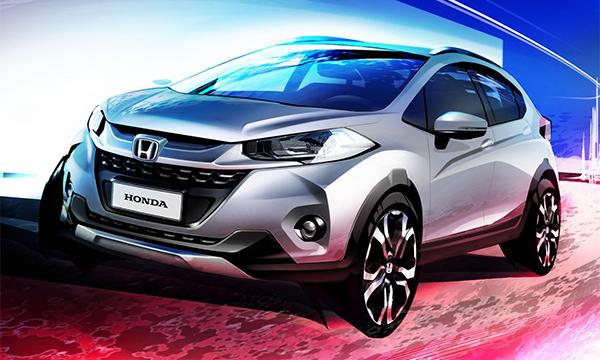 Honda рассекретила свой новый компактный кроссовер