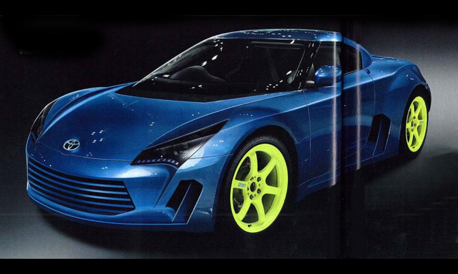 Toyota представит гибридный спорткар в 2010 году