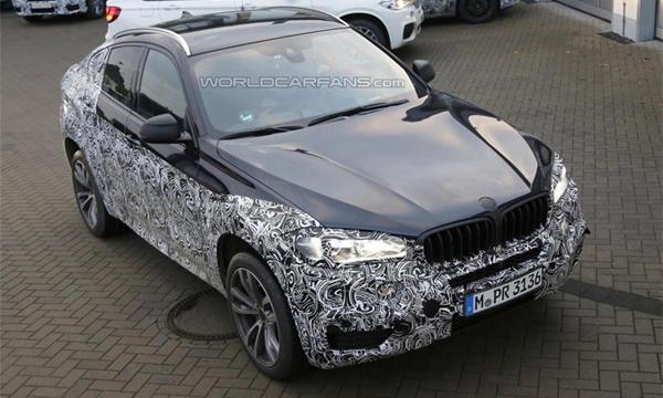 BMW X6 нового поколения заметили на тестах