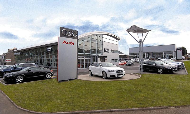 Audi поднимает цены на автомобили в России